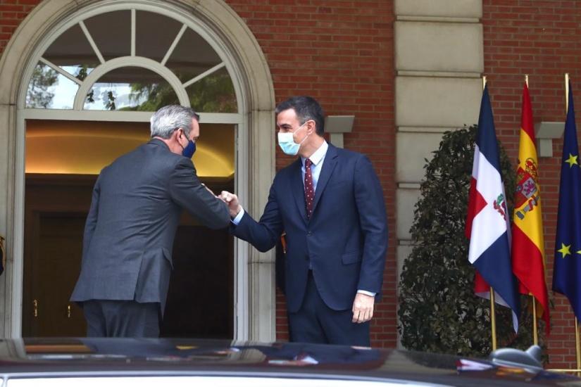 LA se reúne con el presidente Español Pedro Sánchez