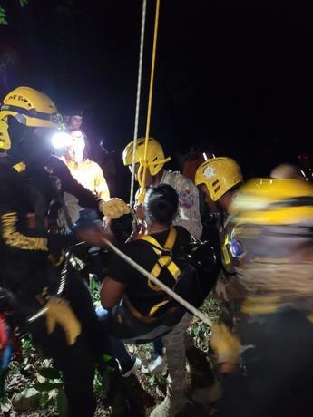Se completa el rescate de las personas atrapadas en teleférico de Puerto Plata