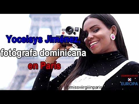 La dominicana que retrata el amor en París