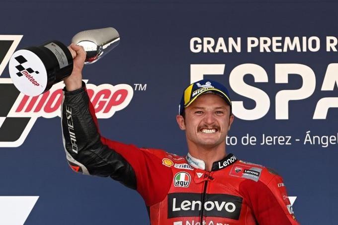 Miller gana en España y Bagnaia es el nuevo líder