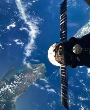 """Astronauta ruso destaca las """"fantásticas vistas"""" y """"naturaleza"""" de República Dominicana"""