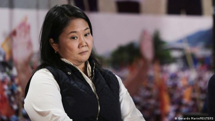 Fiscal pide prisión preventiva para la candidata peruana Keiko Fujimori