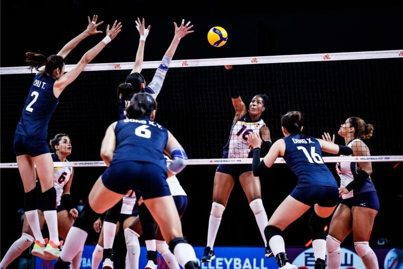 China vence 3-1 a las Reinas del Caribe y le cortan racha triunfos