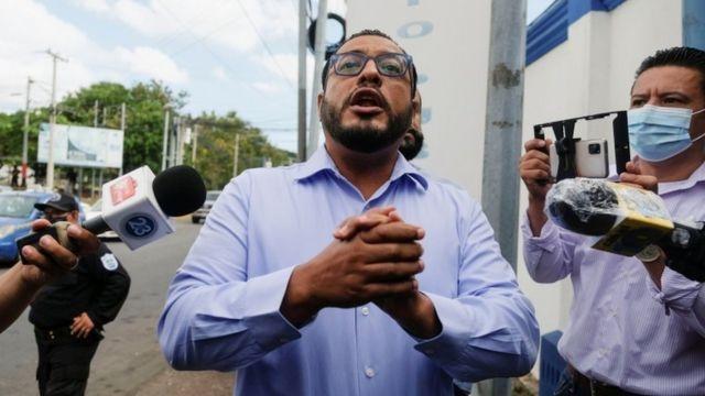 Apresan tercer candidato a la Presidencia en Nicaragua