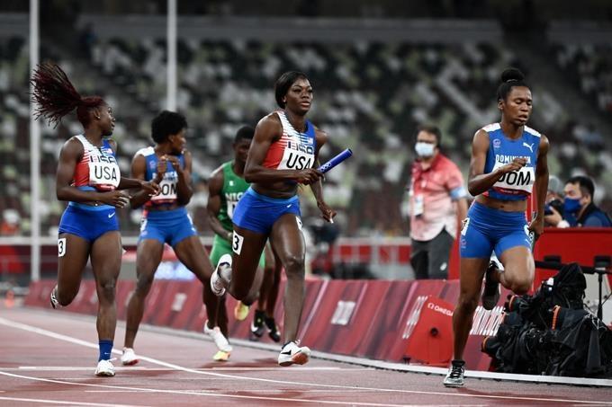 RD logra su segunda medalla de plata en Tokio; queda en segundo en relevos mixtos 4x400