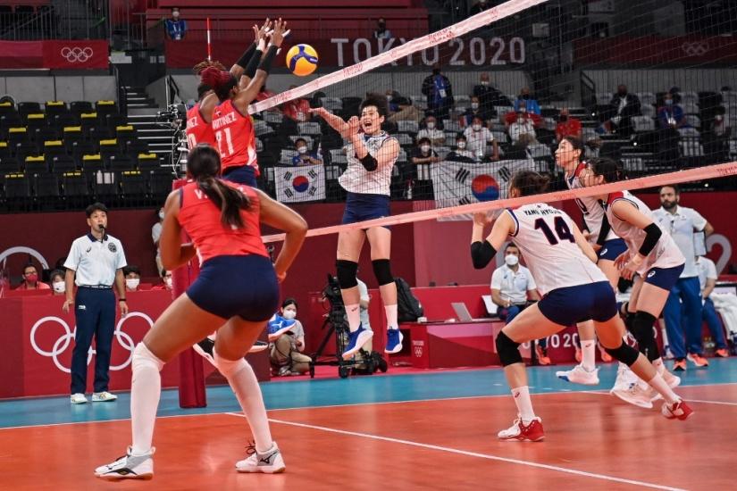 Las Reinas del Caribe sufren derrota ante Corea del Sur en los Juegos de Tokio
