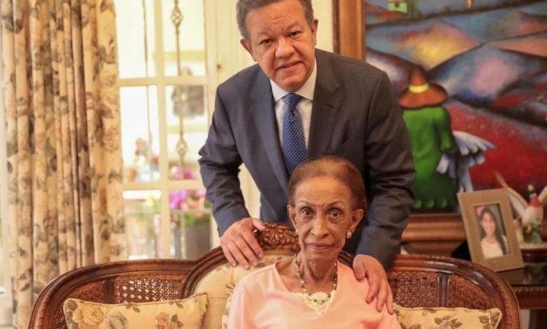 Fallece Doña Yolanda Reyna, madre del expresidente Leonel Fernández a los 96 años de edad