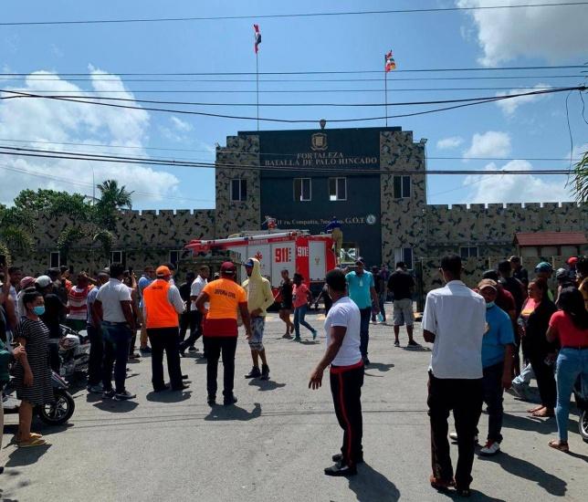 Nueve heridos en intento de motín en la Fortaleza Palo Hincado de Cotuí
