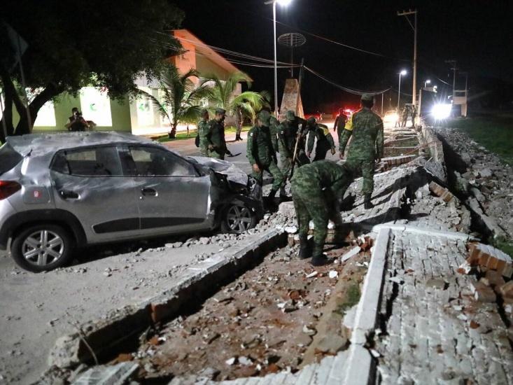 Sismo de magnitud 6,9 sacude centro de México
