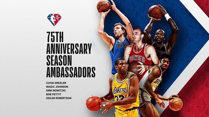 NBA revelará equipo del 75 aniversario durante la semana de apertura 2021-22
